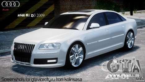 Audi S8 D3 2009 für GTA 4