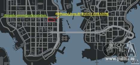 Remake second police station pour GTA 4 neuvième écran
