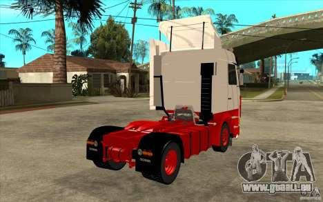 Scania 143M 450 V8 für GTA San Andreas rechten Ansicht