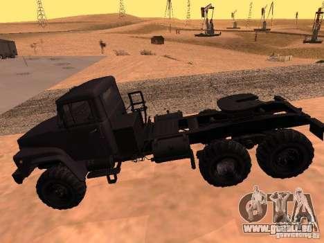 KrAZ 260V pour GTA San Andreas vue arrière