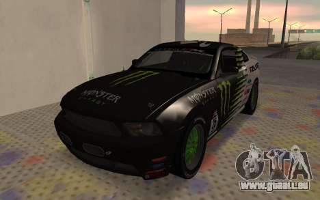Ford Mustang GT Falken Monster 2010 v2.0 für GTA San Andreas