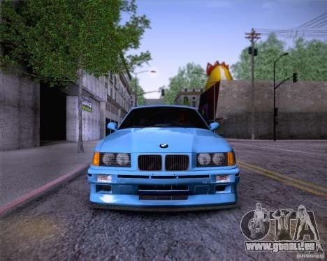 BMW M3 E36 1995 pour GTA San Andreas moteur