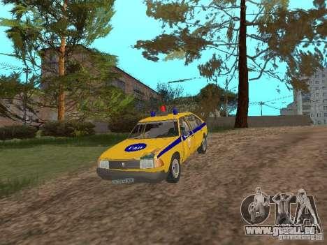 2141 AZLK GAI pour GTA San Andreas vue intérieure