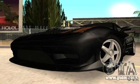 Mazda RX7 Tuned pour GTA San Andreas sur la vue arrière gauche