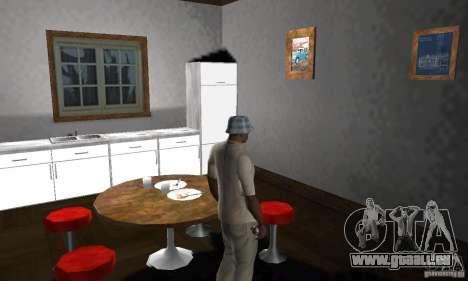 Maisons neuves à coffre intérieurs pour GTA San Andreas neuvième écran