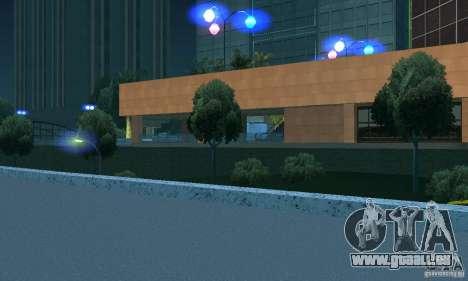 Blaue Scheinwerfer für GTA San Andreas dritten Screenshot