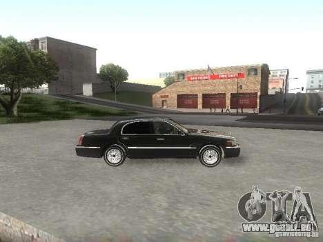 Lincoln Town car sedan pour GTA San Andreas laissé vue