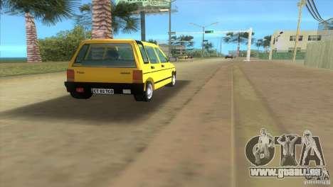 Daewoo Tico pour une vue GTA Vice City de la droite