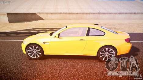 BMW M3 E92 pour GTA 4 est une gauche