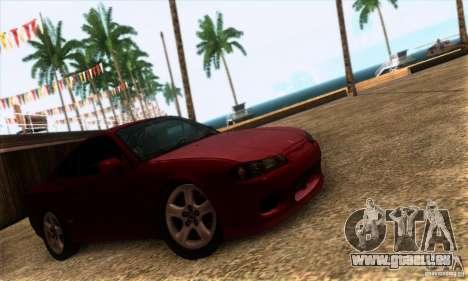 Nissan Silvia S15 Tunable für GTA San Andreas zurück linke Ansicht