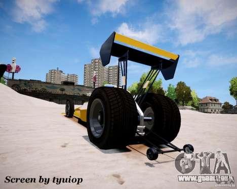 Raketomobil′ für GTA 4 rechte Ansicht