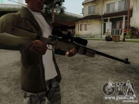 L96A1 für GTA San Andreas zweiten Screenshot