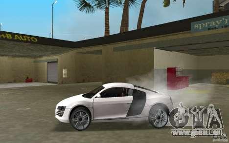 Audi R8 Le Mans pour une vue GTA Vice City de la gauche
