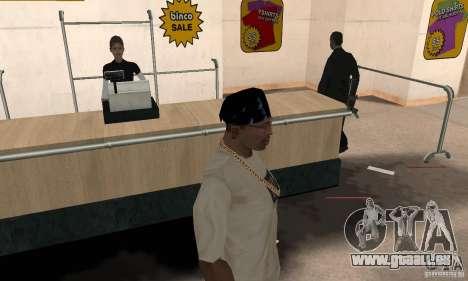 Batman bandana pour GTA San Andreas deuxième écran