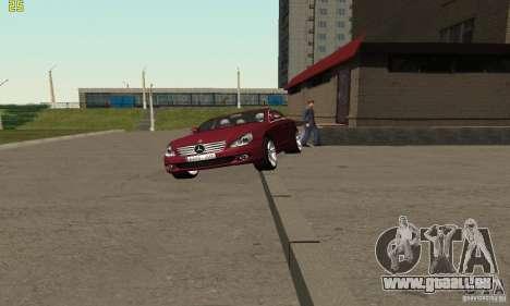 Mercedes-Benz CLS500 v2 pour GTA San Andreas vue de droite