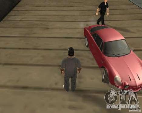 Das Rad gedreht hat, beim Beenden von Kfz für GTA San Andreas zweiten Screenshot