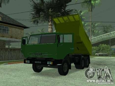 KAMAZ 55112 für GTA San Andreas rechten Ansicht