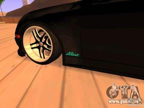 Infiniti G35 V.I.P pour GTA San Andreas vue arrière