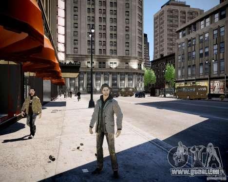 Alan Wake pour GTA 4 secondes d'écran