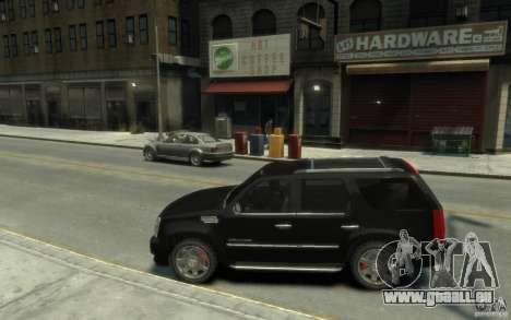 Cadillac Escalade v3 pour GTA 4 est une gauche