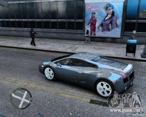 Lamborghini Gallardo 2005 pour GTA 4 est une gauche