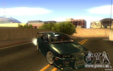 Mitsubishi Eclipse DriftStyle für GTA San Andreas Rückansicht