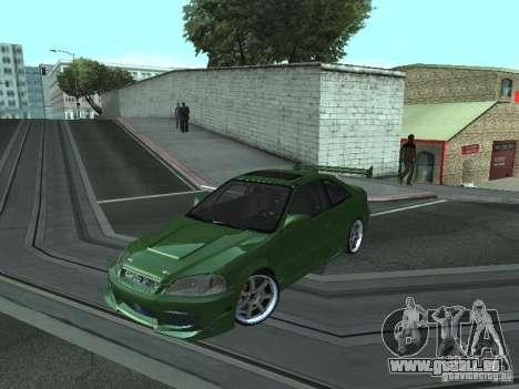 Honda Civic Si Sporty für GTA San Andreas