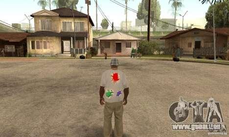 Gotcha Shirt pour GTA San Andreas deuxième écran