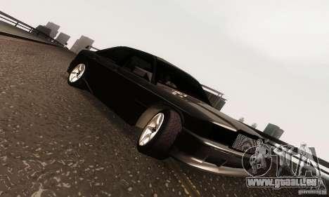 Mercedes-Benz 190E V2.0 für GTA San Andreas Innenansicht