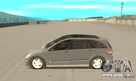 Mercedes-Benz R-Class pour GTA San Andreas laissé vue