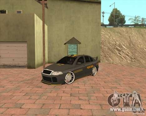 Skoda Octavia Taxi pour GTA San Andreas