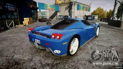 Ferrari Enzo pour GTA 4 est un côté