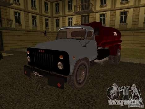 Porteur d'eau GAZ 53 pour GTA San Andreas