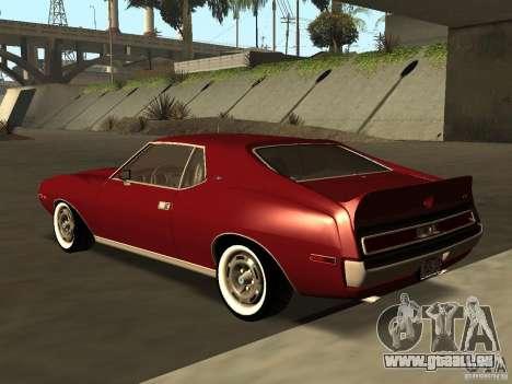 AMC AMX Stock pour GTA San Andreas laissé vue