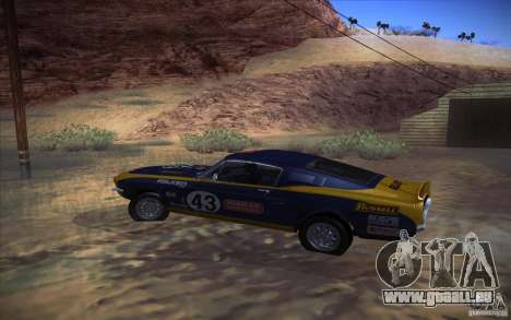 Shelby GT500 1967 für GTA San Andreas rechten Ansicht