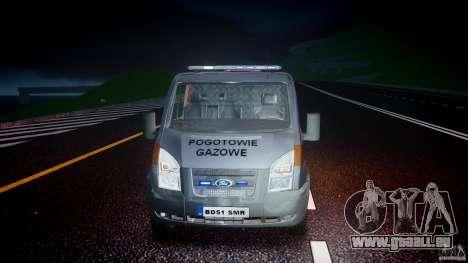 Ford Transit Usluga polski gazu [ELS] für GTA 4 Seitenansicht
