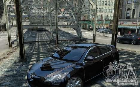 Mazda 6 2008 für GTA 4 hinten links Ansicht