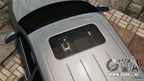 Porsche Cayenne Turbo 2003 pour GTA 4 Salon