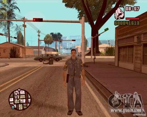 Service de sécurité russe pour GTA San Andreas troisième écran