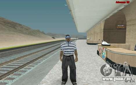 Neue Skins für Bande Varios Los Aztecas für GTA San Andreas dritten Screenshot