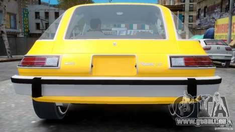 AMC Pacer 1977 v1.0 pour GTA 4 Vue arrière