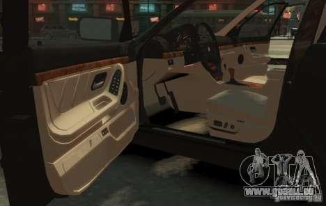BMW 750i E38 1998 M-Packet pour GTA 4 est un droit