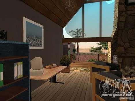 Villa neuve pour CJ pour GTA San Andreas dixième écran