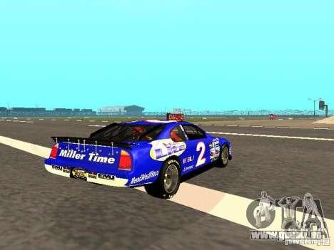 Ford Taurus Nascar LITE für GTA San Andreas rechten Ansicht