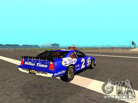 Ford Taurus Nascar LITE pour GTA San Andreas vue de droite