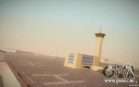 New San Fierro Airport v1.0 für GTA San Andreas zweiten Screenshot