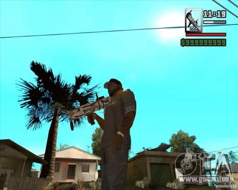 Verbesserte RPG-18 für GTA San Andreas zweiten Screenshot
