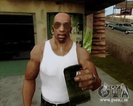 Braun brille Flieger für GTA San Andreas sechsten Screenshot