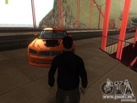 Dodge Charger From NFS CARBON für GTA San Andreas rechten Ansicht