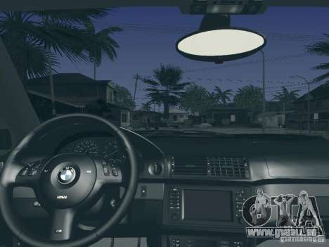 BMW M5 E39 2003 für GTA San Andreas obere Ansicht